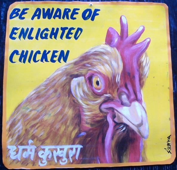 Nepal enlightened chicken