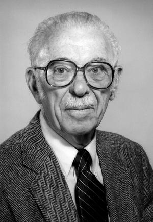 Thomas H. Jukes (Photo:  UC BERKELEY)