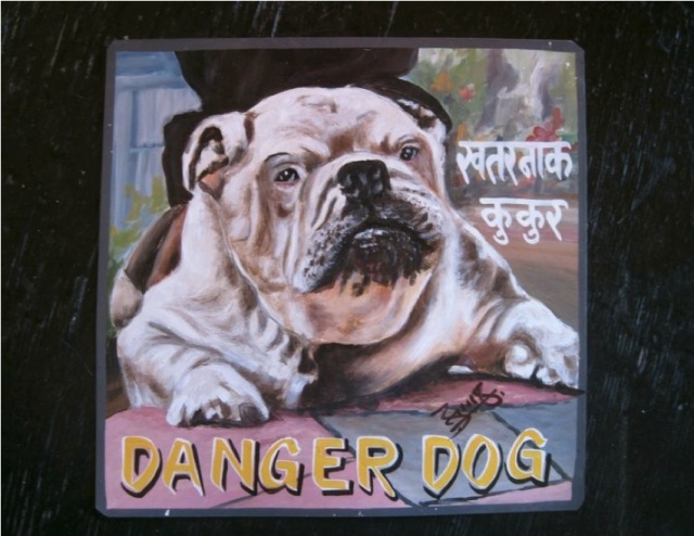 Nepal danger dog