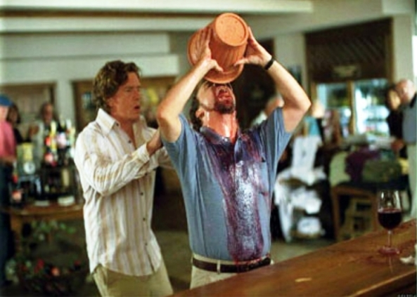 "A scene from the movie ""Sideways"""