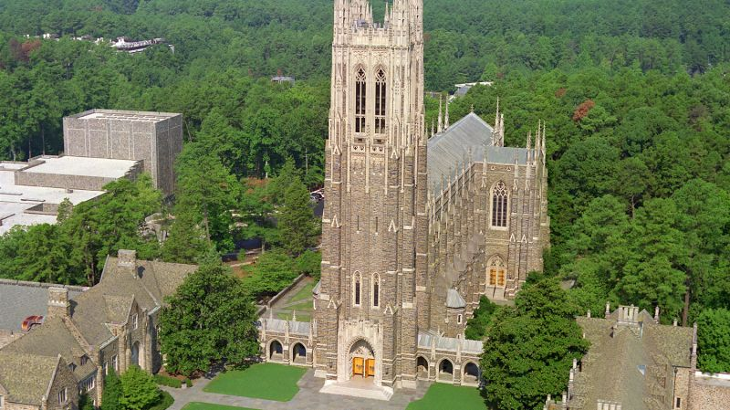 The Duke Chapel credit: visitnc.com