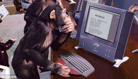 monkey-on-a-computer