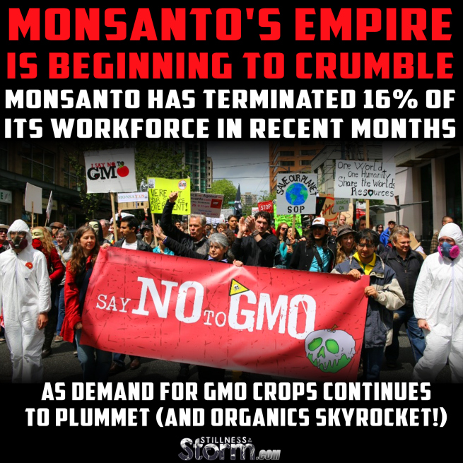 Monsanto's Empire is Beginning To Crumble