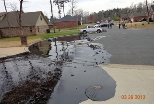 US EPA Mayflower AR Exxon Mobil oil spill