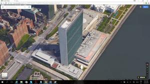 UN building on East River
